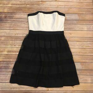 White House Black Market Strapless Dress, Size 10